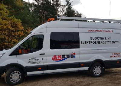 pojazd do specjalistycznych robót energetycznych